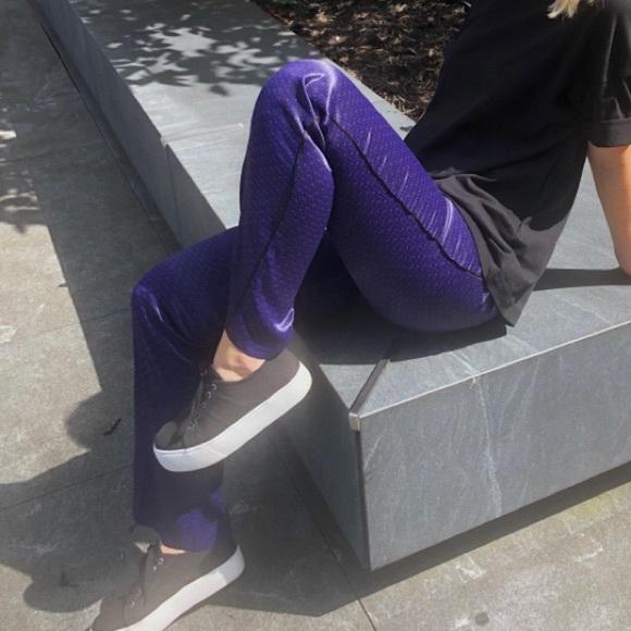 Massimo Dutti Pants - Trendy & Silky Printed Dress Pants